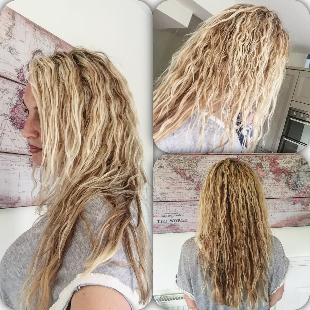 beach wave perm hairstyles can look extremely classy and