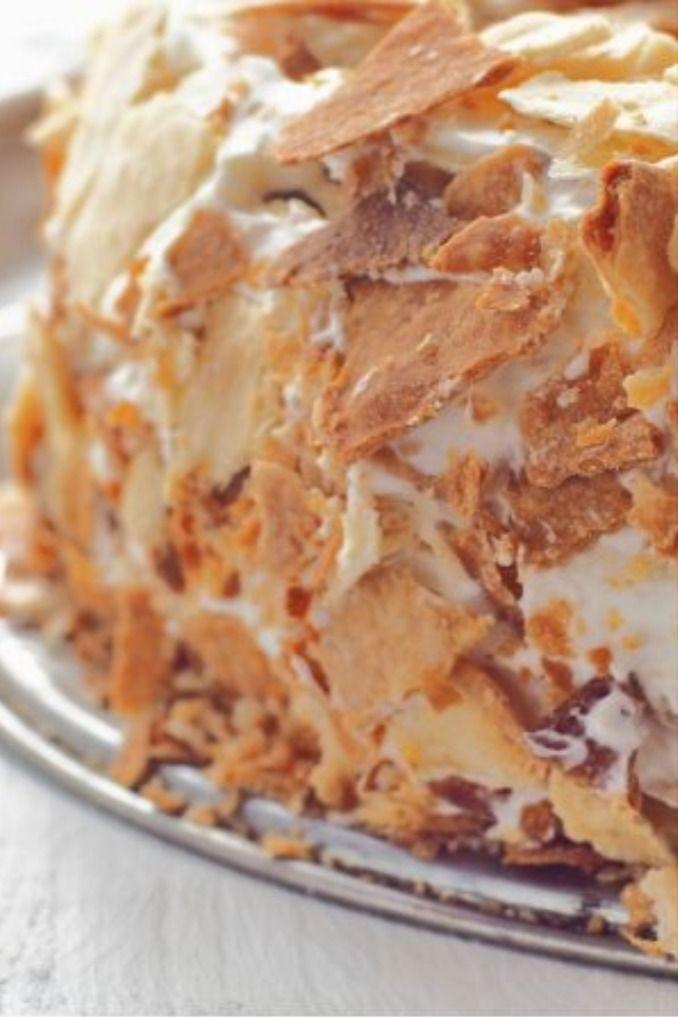 Schmandtorte mit Milchmädchen | Leckeres Schmandkuchen Rezept #tortenrezepte