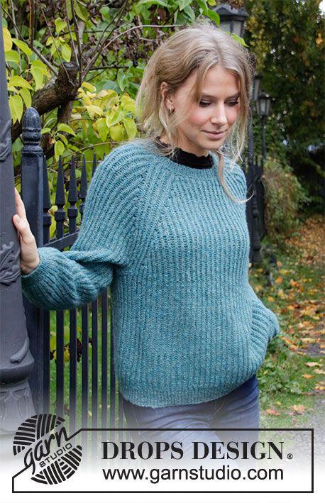 Lagoon / DROPS 207-40 - Free knitting patterns by DROPS Design