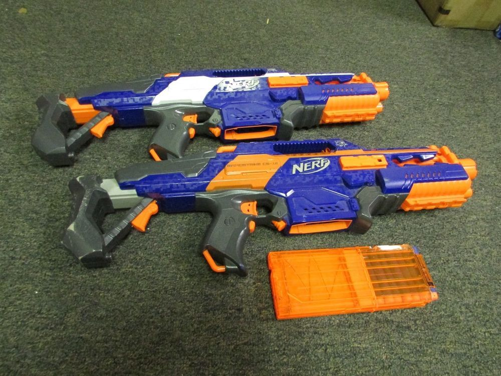Nerf Unleashes Furthest-Shooting Weapons In Its Arsenal: N-Strike Elite  Blasters | TechCrunch