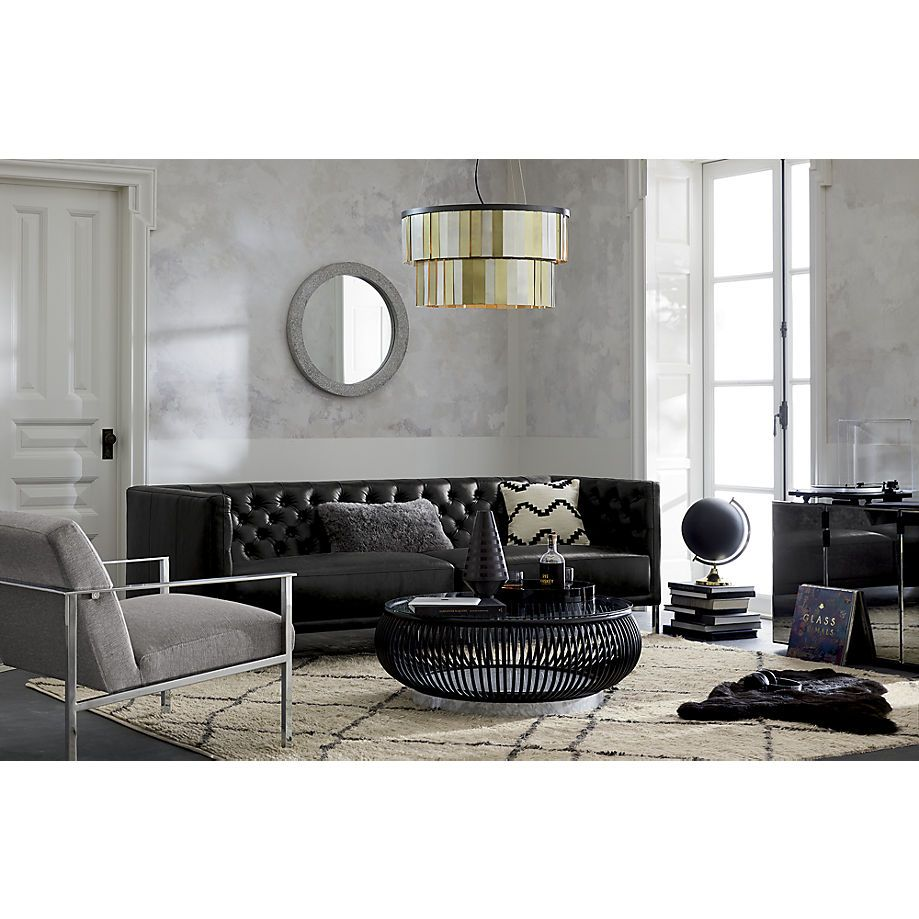 Black Couch Https Www Cb2 Com Haven Coffee Table S153806