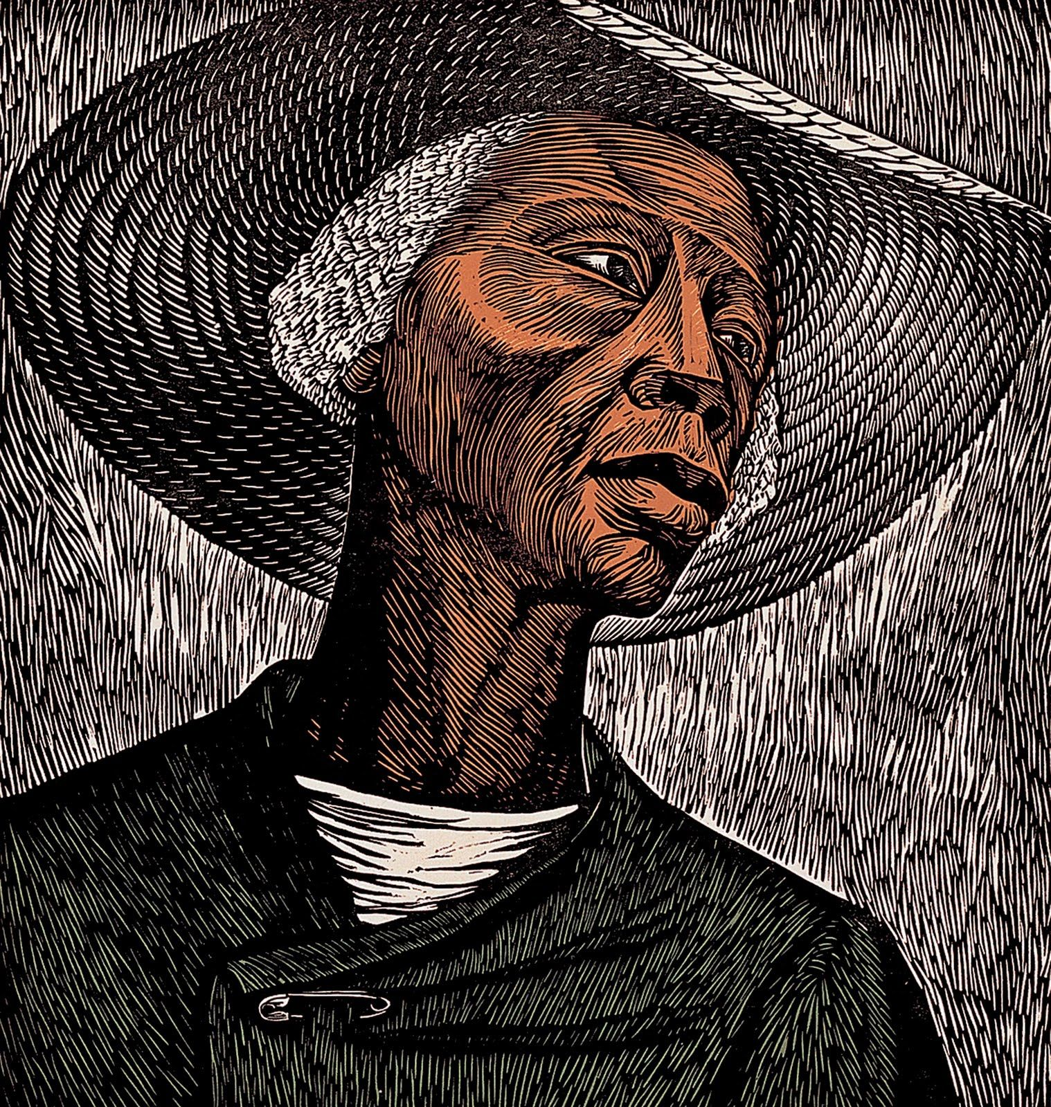A woman revered as one of the top black artists of the