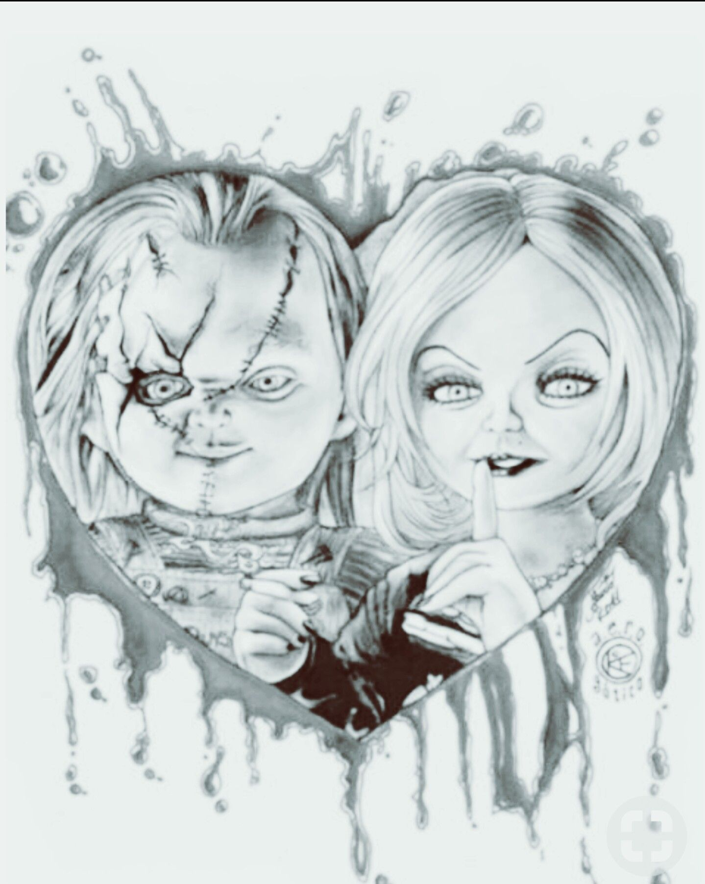 Pin By Evelien Janssen On Wood Burning Scary Drawings Horror Drawing Chucky Drawing