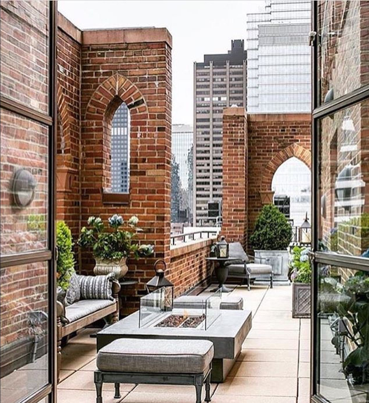 Terrace Garden Apartments: Roof Terrace New York Apartment