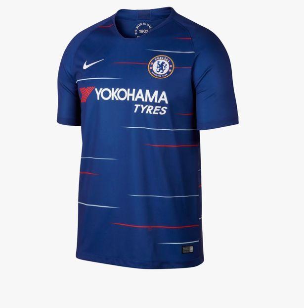 Premier League Kits First Look At The New Shirts We Ll See Next Season Chelsea Kaos Nike