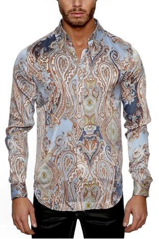 Mode På Nätet Taracci Silk Shirt Skjorta Paisley Svensk Export