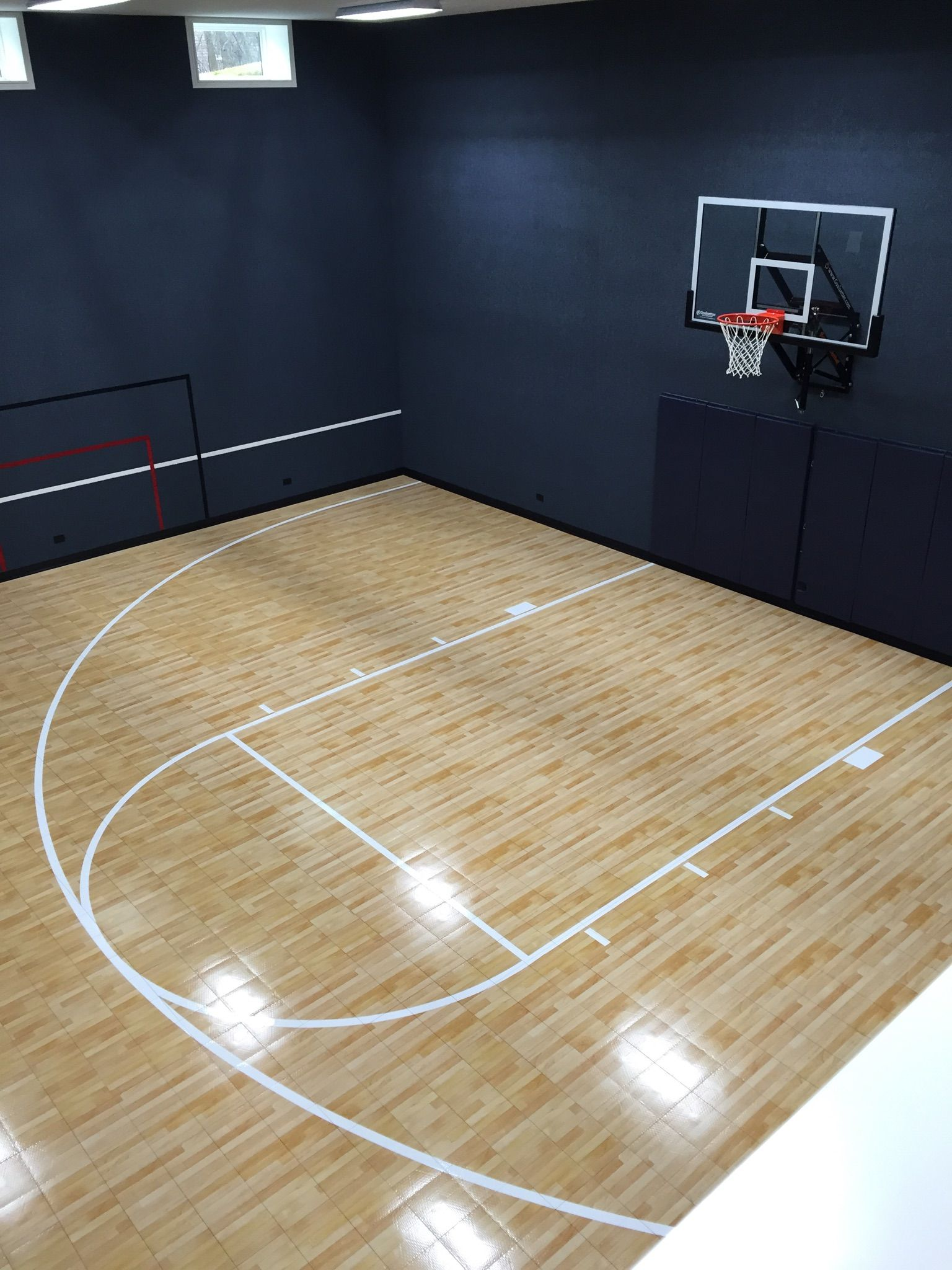 Indoor Court Using Maple Select Beautiful Choice Basketball Room Indoor Basketball Court Home Basketball Court
