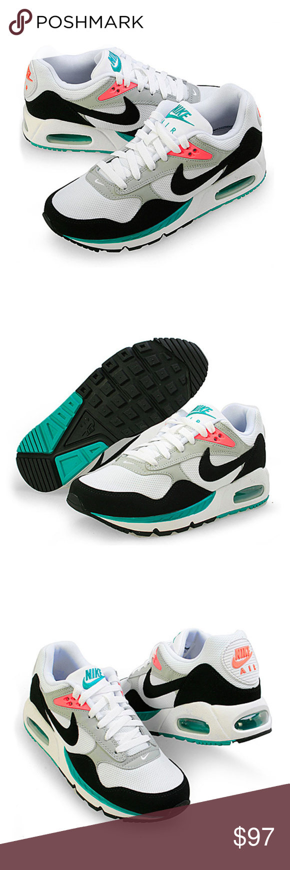 Nike Air Max Correlate WhiteBlackGreenMango WM Nike Air