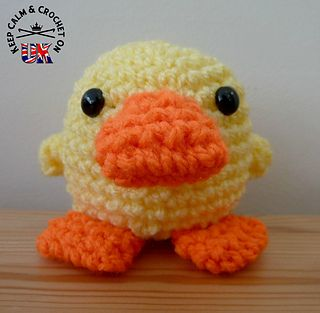 Ravelry: Doodle Zoo 1: Doodle the Duckling pattern by Heather C Gibbs