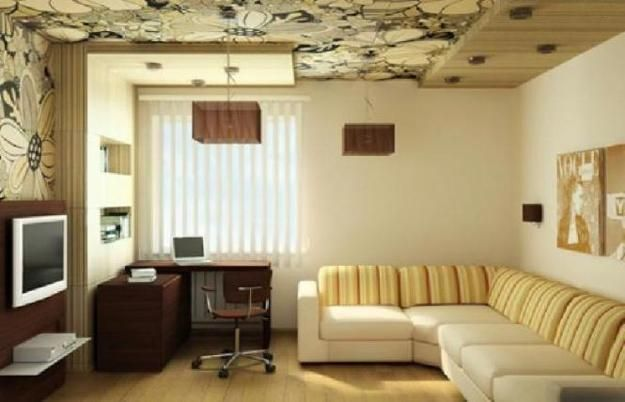 Ceiling ideas modern interior design with wallpaper