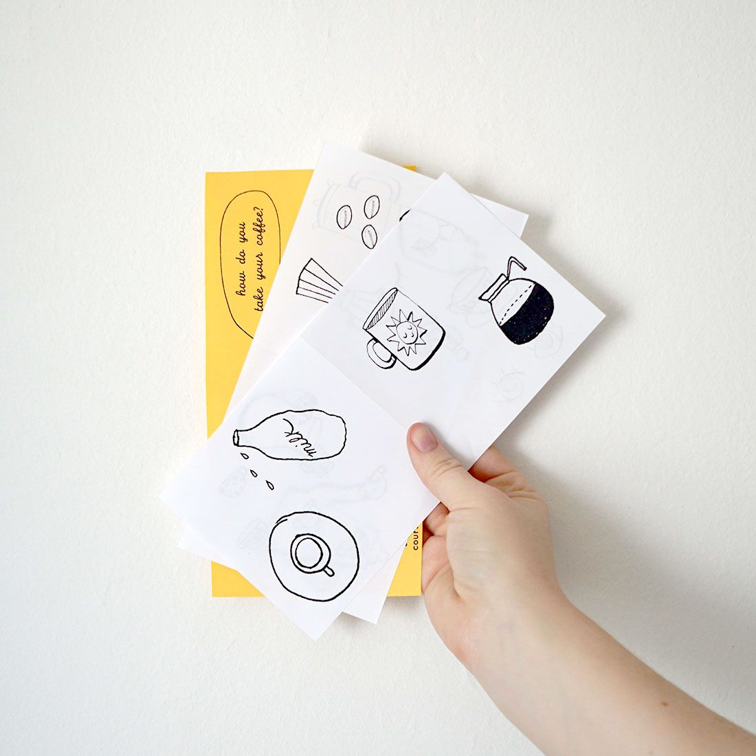 How To Make A Mini Coloring Book Zine Coloring Books Zine Crafts To Do