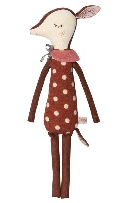 f663fdde9ec8b5 Maileg Knuffel Bambi, Sleepy-Wakey Dots   Kids - Deer stuffed animal ...