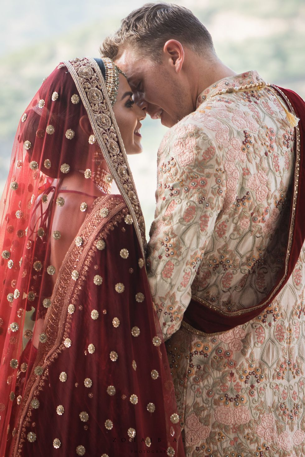 Diipa Khosla Wore 9 Different Looks for Her 4-Day Indian Wedding -   15 wedding Design couple ideas
