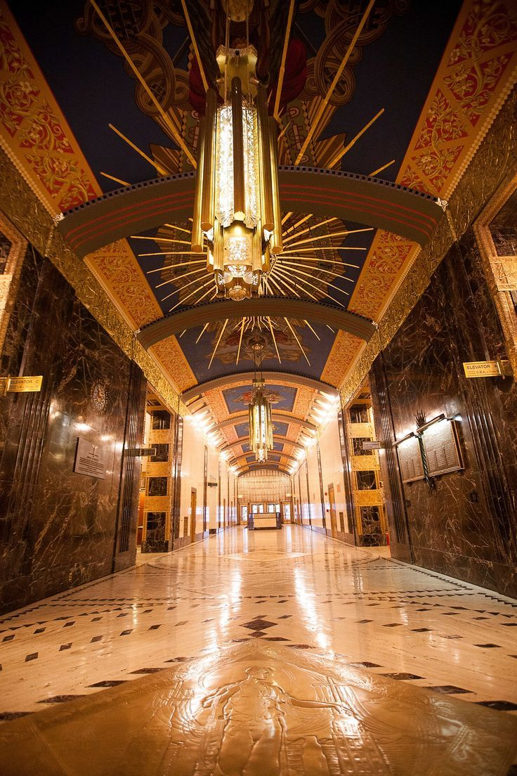 American Art Deco/Barclay-Vesey Building.1923.
