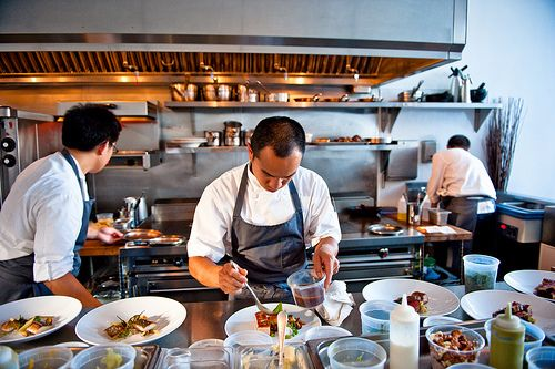 When Dining At Commis Should You Pack Heat Kitchen Design Open Asian Street Food Restaurant Kitchen