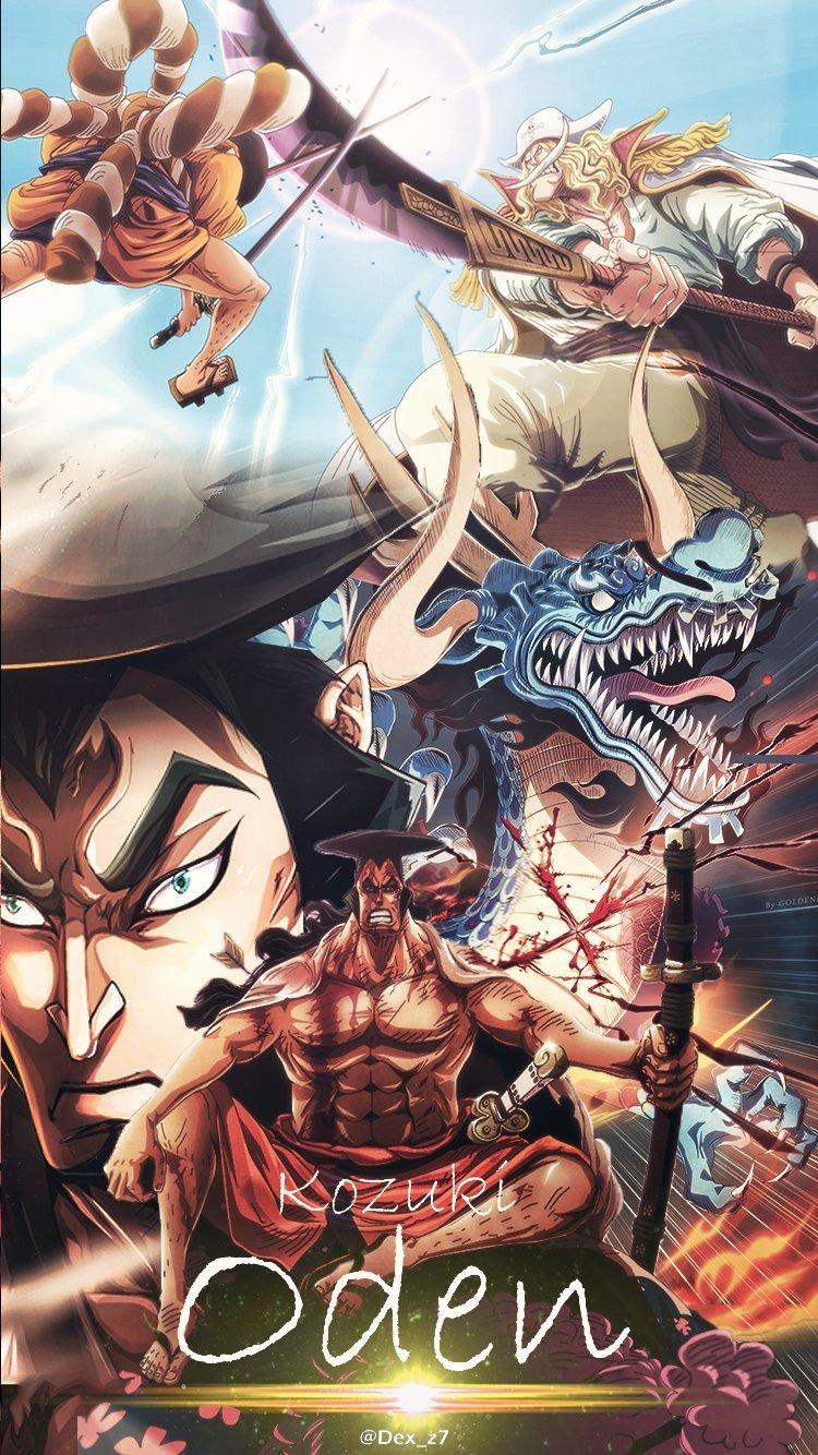 Kozuki Oden   One piece anime, Animes wallpapers, Ace one piece