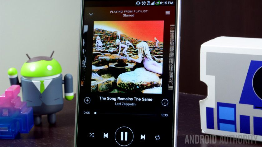 Record Player app can find music on Spotify just by