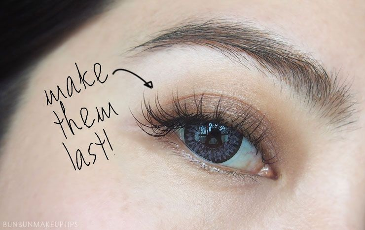 13 Useful Tips To Make Your Eyelash Extensions Last A Long Time | Bun Bun Makeup Tips and Beauty Product Reviews