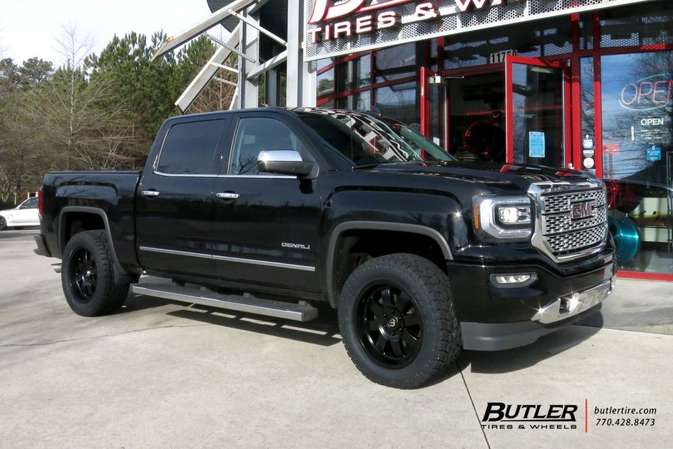 Gmc Sierra Denali With 20in Fuel Baja Wheels Exclusively From