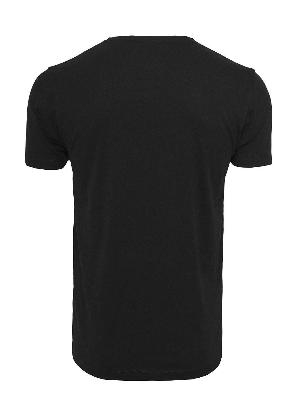 Mister Tee TB Herren T-Shirt Fuck Off Flames Print schwarz -