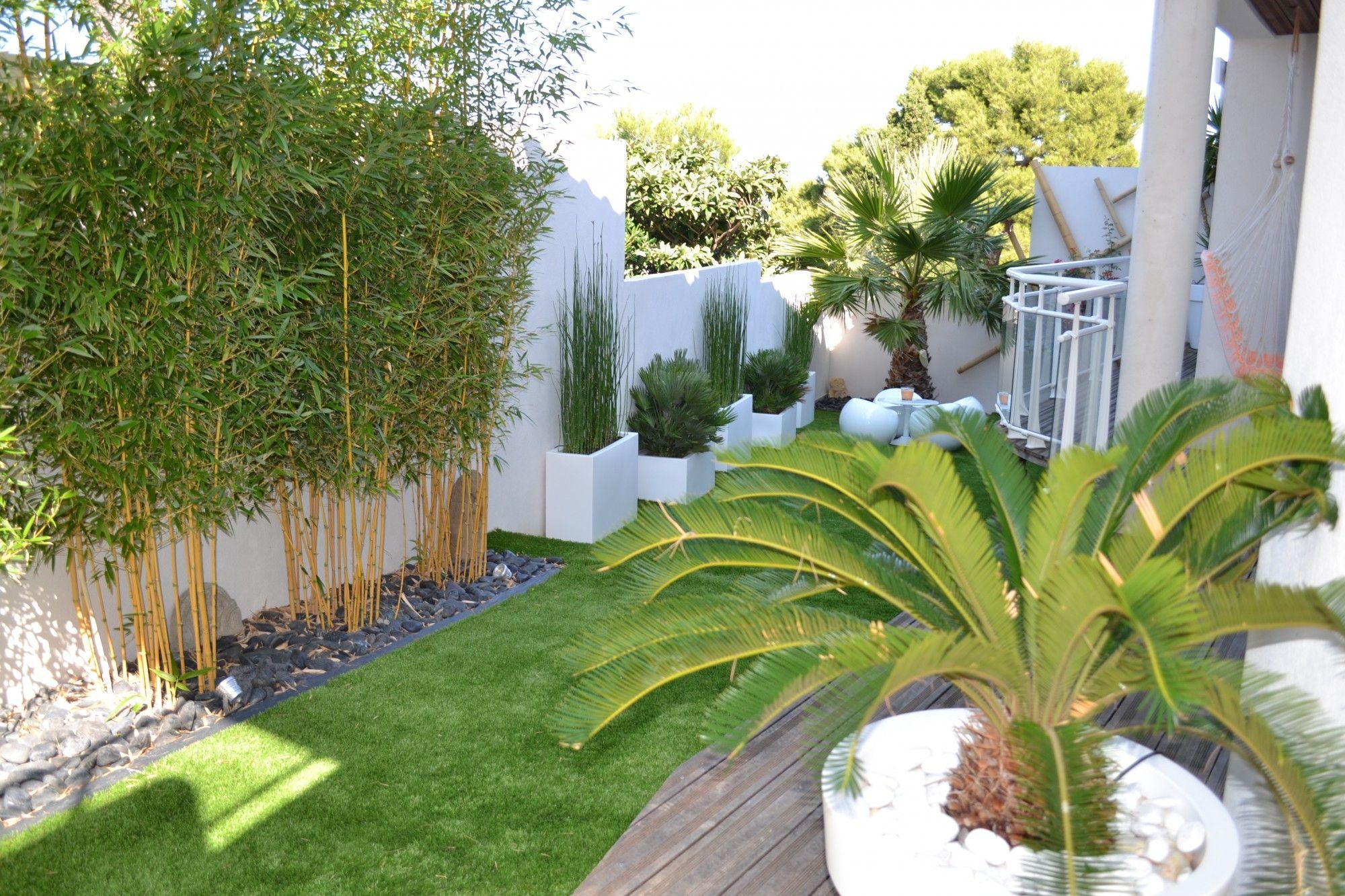 déco : Jardin Moderne Bambou 77 ~ Nimes, Bern, Jardin ...