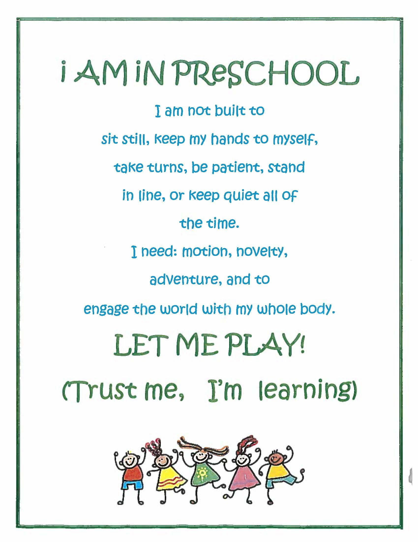 Inspirational Quotes For Preschoolers