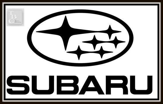 Subaru Logo Decal 7 Subaru Logo Subaru Logos