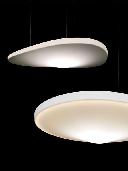 Pétale, the beautiful sound-absorbing lamp by Odile Decq