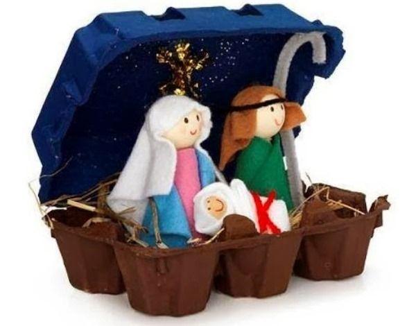 Fotos Esta Navidad Belenes Originales.Ideas Para Hacer Belenes Caseros Originales Con Ninos