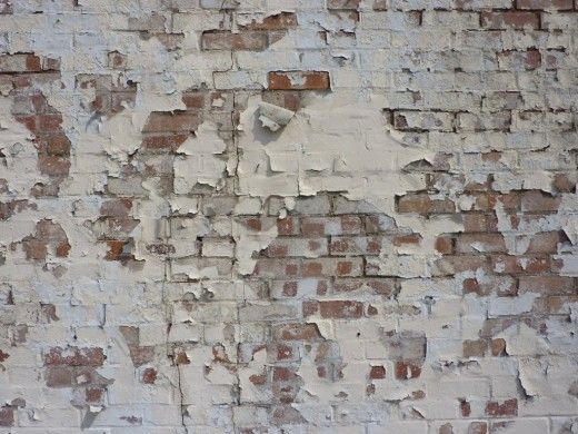 Distressed Brick Wall Texture Textured
