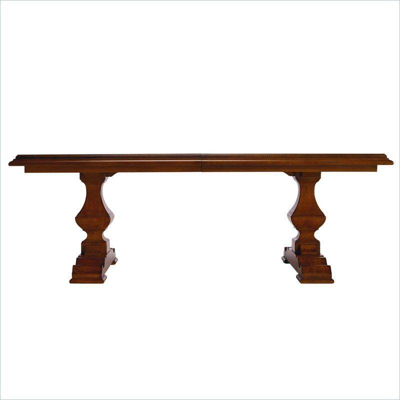 Stanley Furniture Santa Barbara Grande Barade Pedestal Formal Dining Table