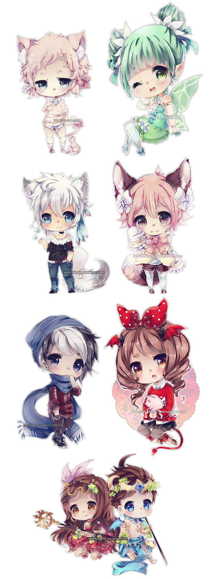Chibi by LaDollBlanche | New | Pinterest | Manga, Dibujo y Kawaii