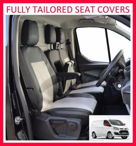 Ford Transit Custom Fully Tailored Seat Covers Leatherette