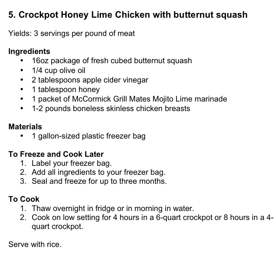 Pin By Dawn Struble On Tested Crockpot Freezer Recipes