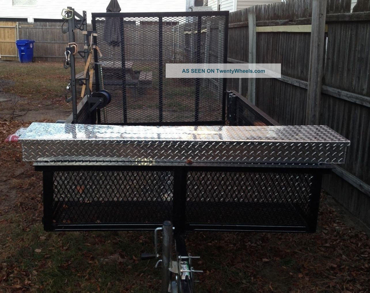Image Result For Utility Trailer Tool Box Trailer Deck Utility