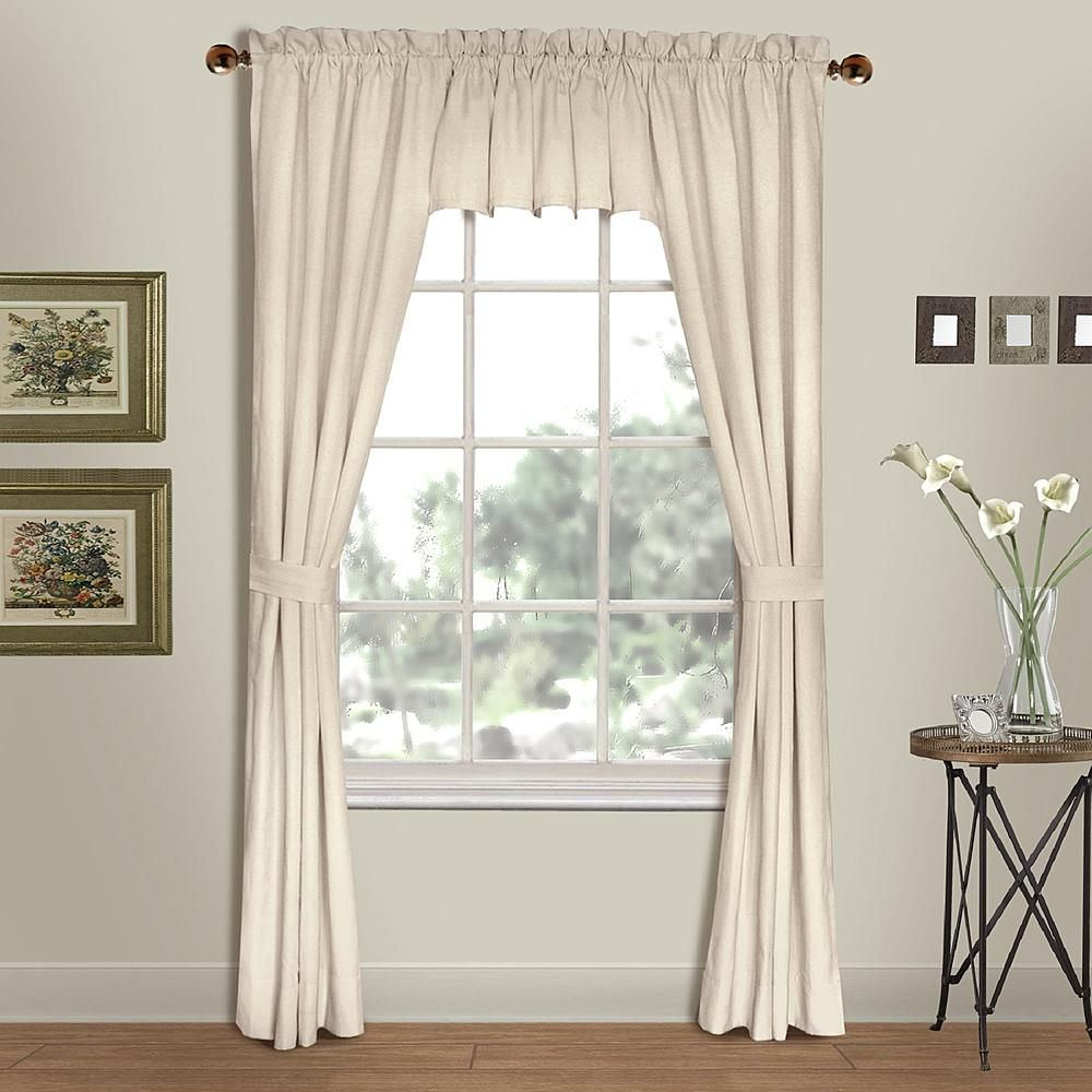 United Curtain Company Westwood 54 X 63 Panel Pair Available In