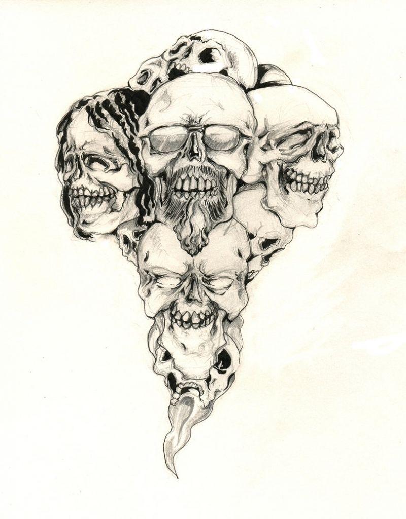 badass tattoo designs skull tattoo design thecoffeebaron on deviantart badass skull tattoo. Black Bedroom Furniture Sets. Home Design Ideas