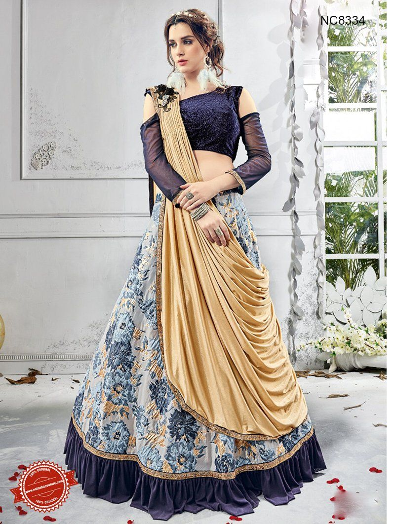 33b2a226f2 Latest Lehenga Designs 2018 for Party | Lehenga designs in 2019 ...