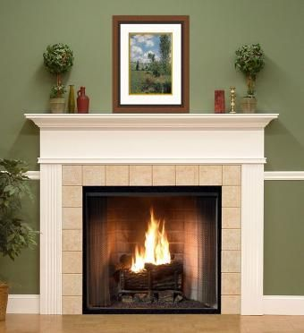 Craftman White Fireplace Mantels Chicago Mantels Naperville Mantels Elmhurst Mantels White Fireplace Mantels Wood Fireplace Mantel Wooden Fireplace