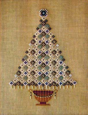 Yule Tree (cross stitch) Nordic Needle inc.