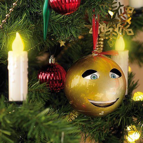Die Singende Weihnachtskugel gold ist ein tolles Accessoire für jeden Baum #Weihnacht #Christmas #Weihnachtsbaum