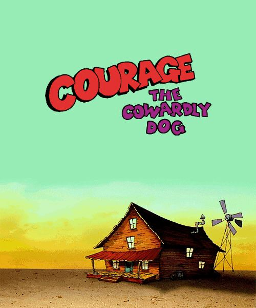 Courage The Cowardly Dog House : courage, cowardly, house, Courage, Cowardly, Childhood, Shows,, Cartoons,, Cartoons