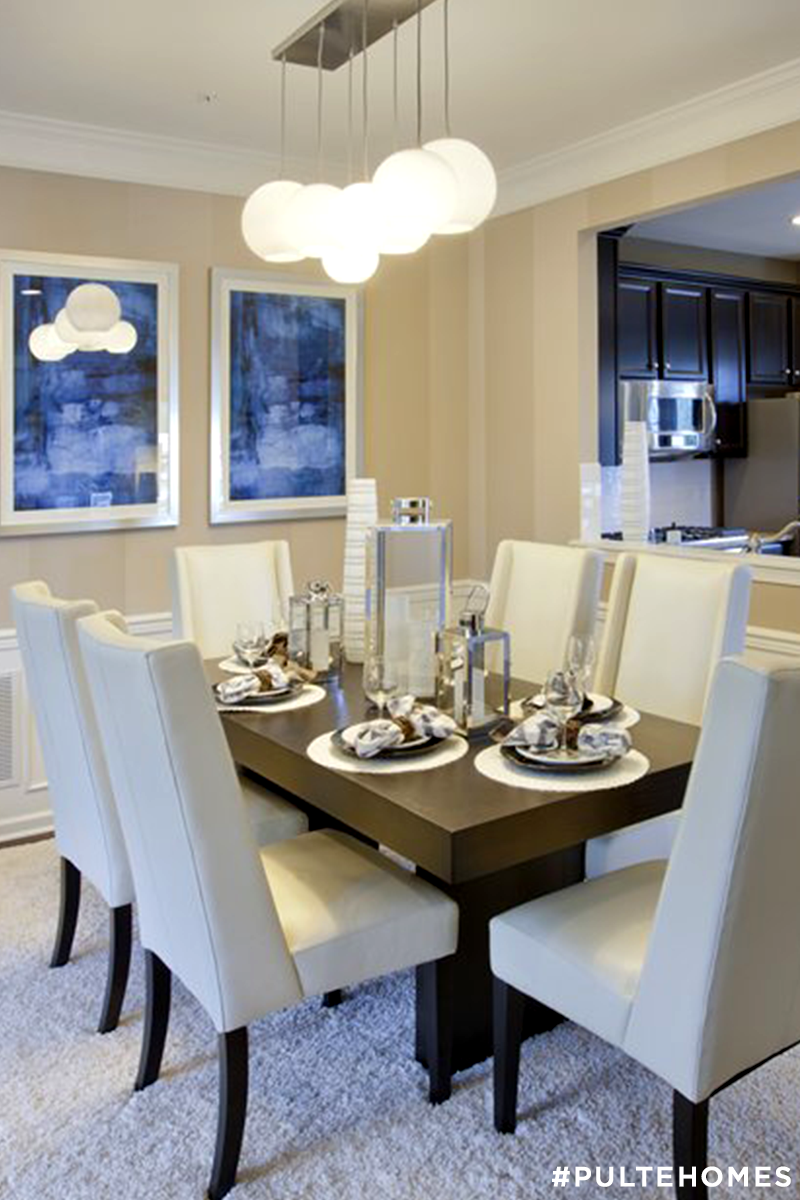 the warrington pointe dining room with kitchen pass through was