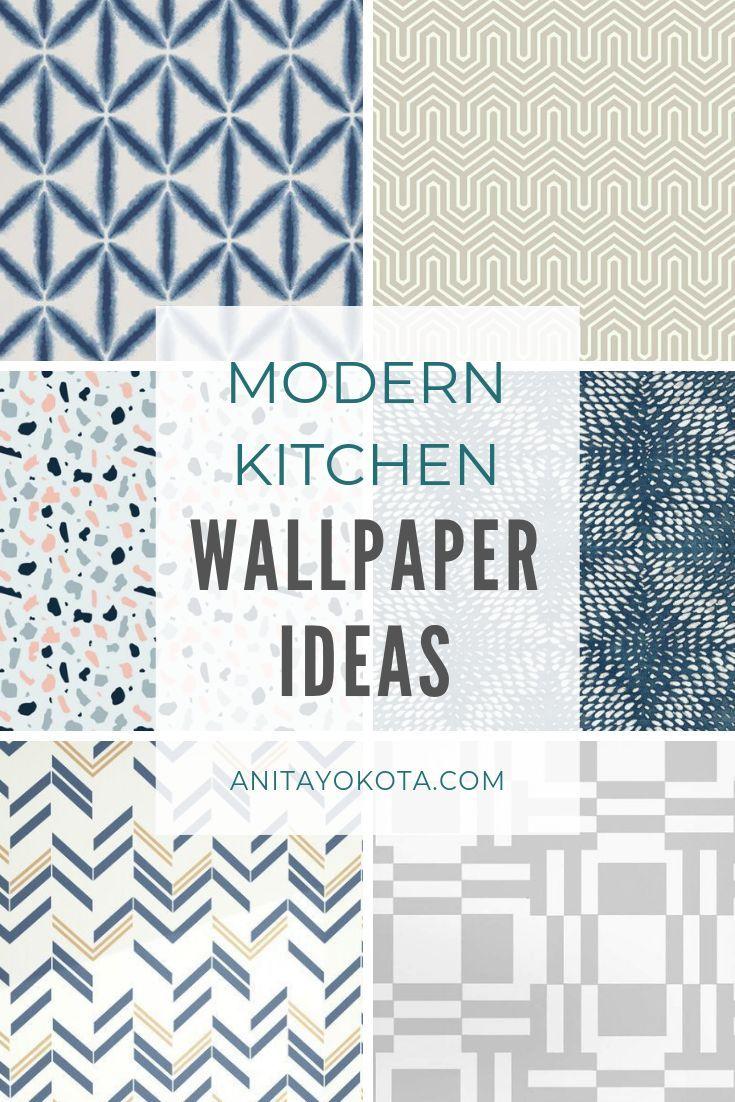 Kitchen Backsplash Wallpaper Round Up Anita Yokota Backsplash Wallpaper Modern Kitchen Wallpaper Wallpaper Backsplash Kitchen