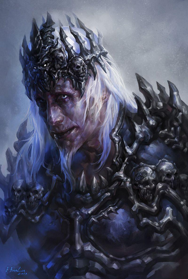 Image result for evil necromancer