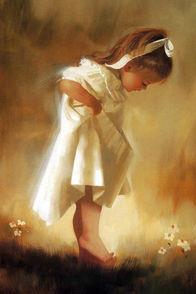 20 Beautiful Baby Oil Paintings For Your Inspiration With