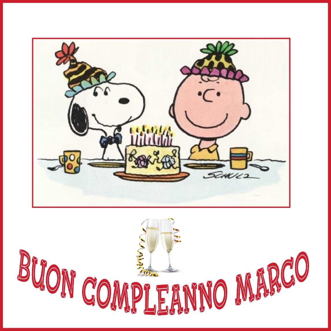 Buon Compleanno Marco Compleanni Onomastici E Anniversari
