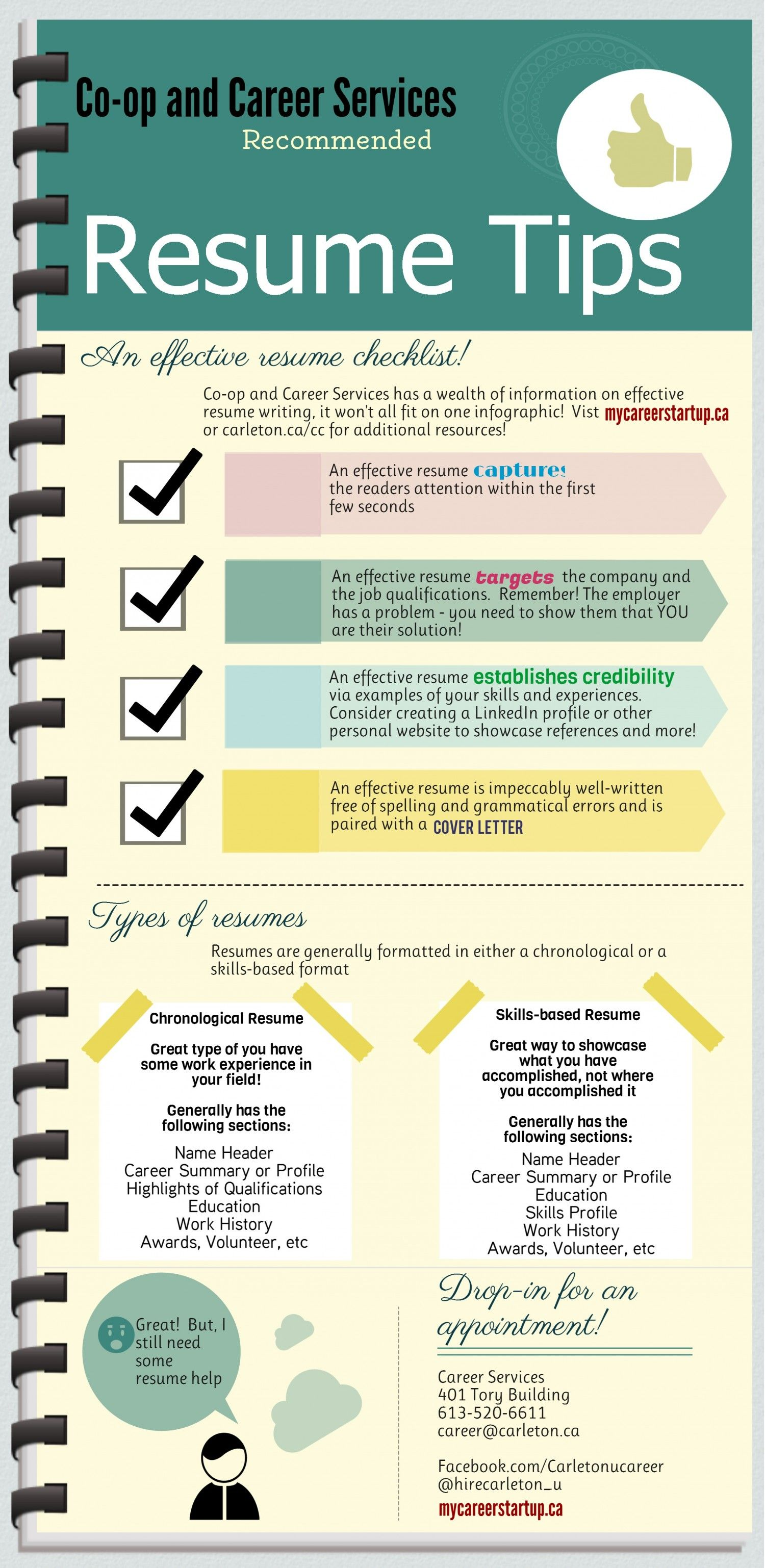 Read More Tips For Your RESUME On Tipsographic.com (resume Infographics,  Change Management  Tips For Resume