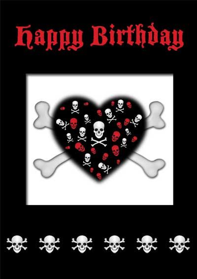 Gothic Happy Birthday Pictures Free Free Printable Gothic