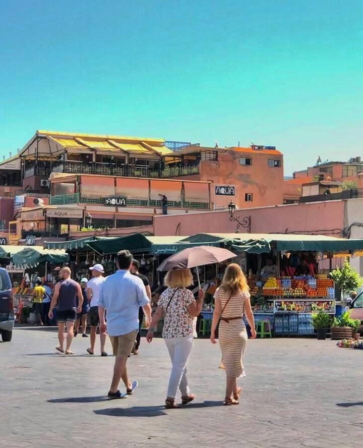 El Jardin Cafe Zonamerica: La Place Jemaa El-Fna Marrakech.